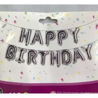 16inch Happy Birthday Foil Balloons
