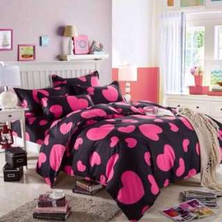 **HOT SALE CLEARANCE** QUEEN WITH QUILT COVER BEDSHEET SET ALL NOW