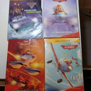 Planes , Cars junior novel (4 books)