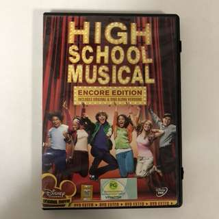 2006 High School Musical DVD