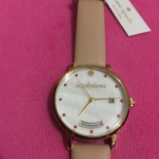 Brandnew Kate Spade watch (leather and gold)