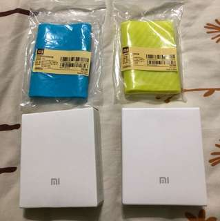 [left yellow color] Xiaomi 10000mah power bank