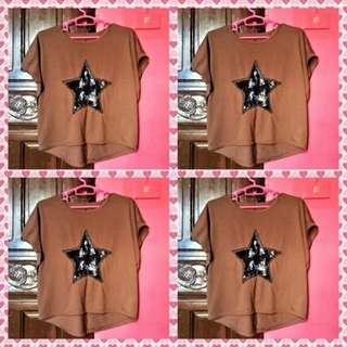 Shirt -Brown & Black