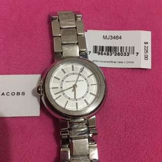 Brandnew Marc Jacobs Silver Watch