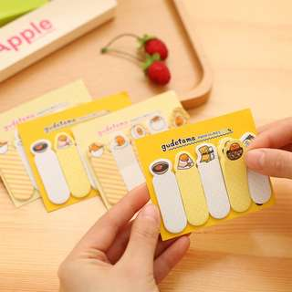 GUDETAMA Sticky Notes / post it telur ceplok mata sapi [SN01]