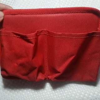 Red Cloth Bag organizer