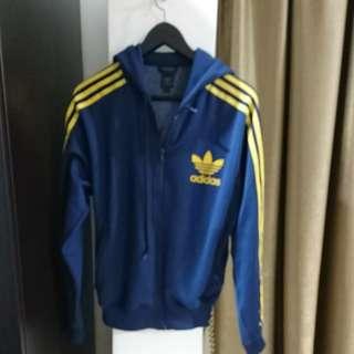Adidas Original Blue Hoodie