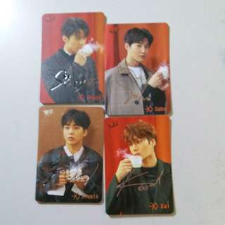 EXO yes card $15 all