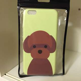 iPhone 6plus 電話殼 (軟殼包邊)狗仔