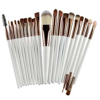 (FREE)💗Make Up Brushes (20Sets)