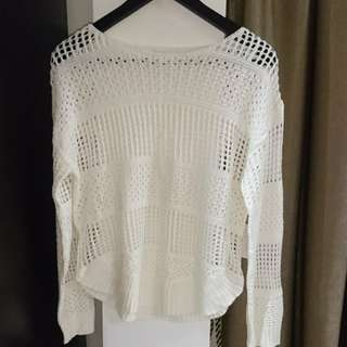 Charming Charlie White Top