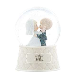 "Precious Moments ""Musical Wedding Water Ball"" 831003"