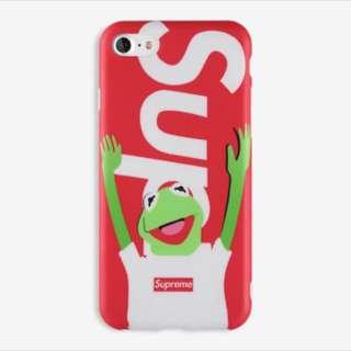 Kermit x Supreme IMD Case for iPhone 5, 5s, se, 6, 6+, 7, 7+, 8, 8+, X