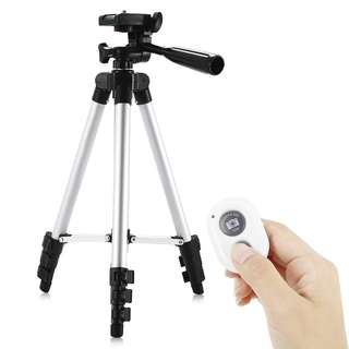Camera Tripod with Bluetooth 4.0 Remote Controller