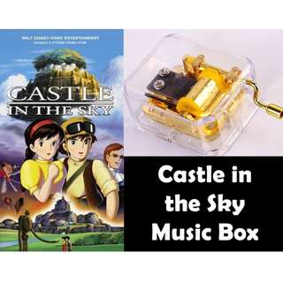 Studio Ghibli Castle in the Sky Music Box