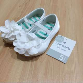Carter's Toddler White Shoes