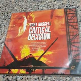Critical Decision ( Laserdisc )