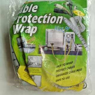 Cable protection wrap