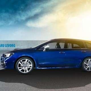 WTS Subaru Levorg Stock Enkei Rim