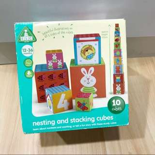 ELC Nesting and Stacking Cubes