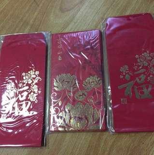 Maybank angpow red packets 38 pcs