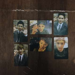 EXO Photocard XOXO Kiss Version