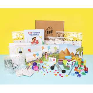 Edu-Fun Bag For Fun (1st Box): BOND & LEARN WITH YOUR CHILDREN (1.5 - 6 y.o.)