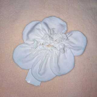 St. Patrick Mittens 3 Pairs 100% Cotton White & Ivory Set