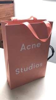 Very Nice Acne paper bag