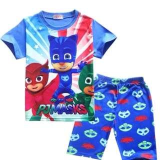 PJ Mask Pyjamas Casual Outing Wear