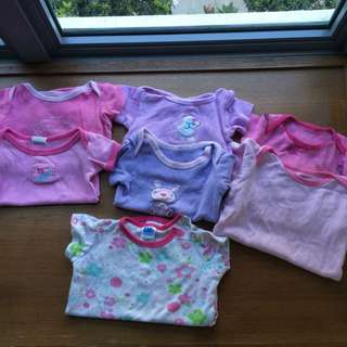 NB-3mth romper and t-shirt