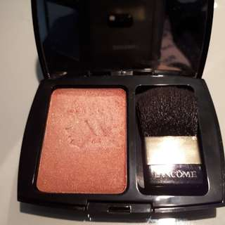 Used lancôme naturally glowing checks powder blush 128 blushing trésor