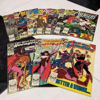 Avengers West Coast Comics (1989)