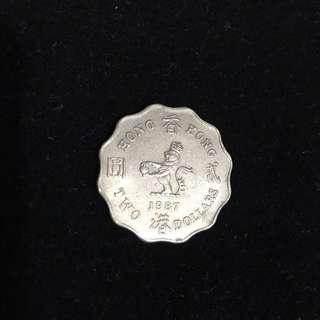 1987貳圓