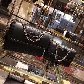 🎉📢特價:美國代購,香港現貨,Tory Burch 大、中號黑色包包