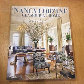 Glamour at Home by Nancy Corzine (Design Book)
