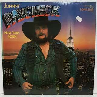 Johnny Paycheck - New York Town Vinyl Record