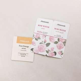 (Free) Mamonde Products