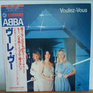 ABBA Voulez Vous LP Record Vinyl