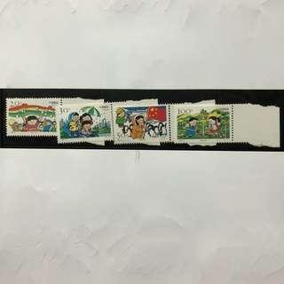 #櫃桶底收藏# #中國郵票# 1996-12 兒童生活 Complimentary Mailing