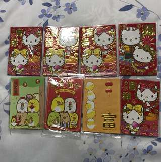 Clearance - hello kitty hongbao / angbao / red packet 2 for $1