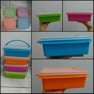NEW Tupperware Picnic LunchBox (4pcs)