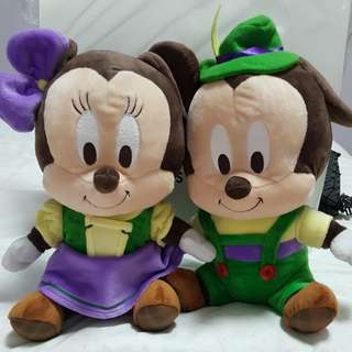 Mickey Mouse & Minnie Mouse!