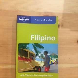 Lonely planet Filipino phrase book