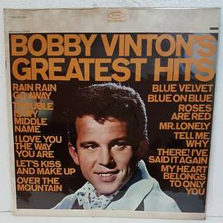 Bobby Vinton's Greatest Hits Vinyl Record