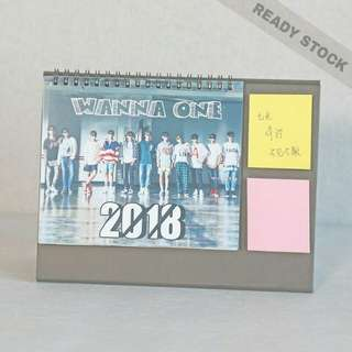 Wanna One 2018 Calendar