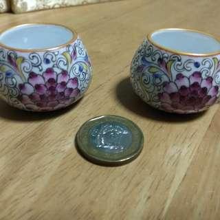 Premium jumbul cup. Gold rim