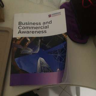 Business and comm awareness