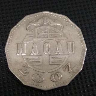 2007 澳門五元