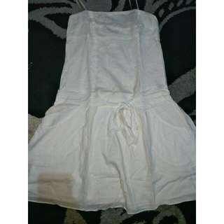 White cute dress